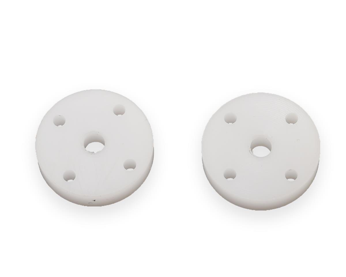 HPI Big Bore Precision Piston (White) (2) (1.5x4mm Holes)