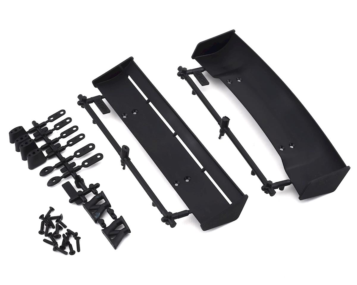 HPI RS4 1/10 Molded Wing Set (Black)