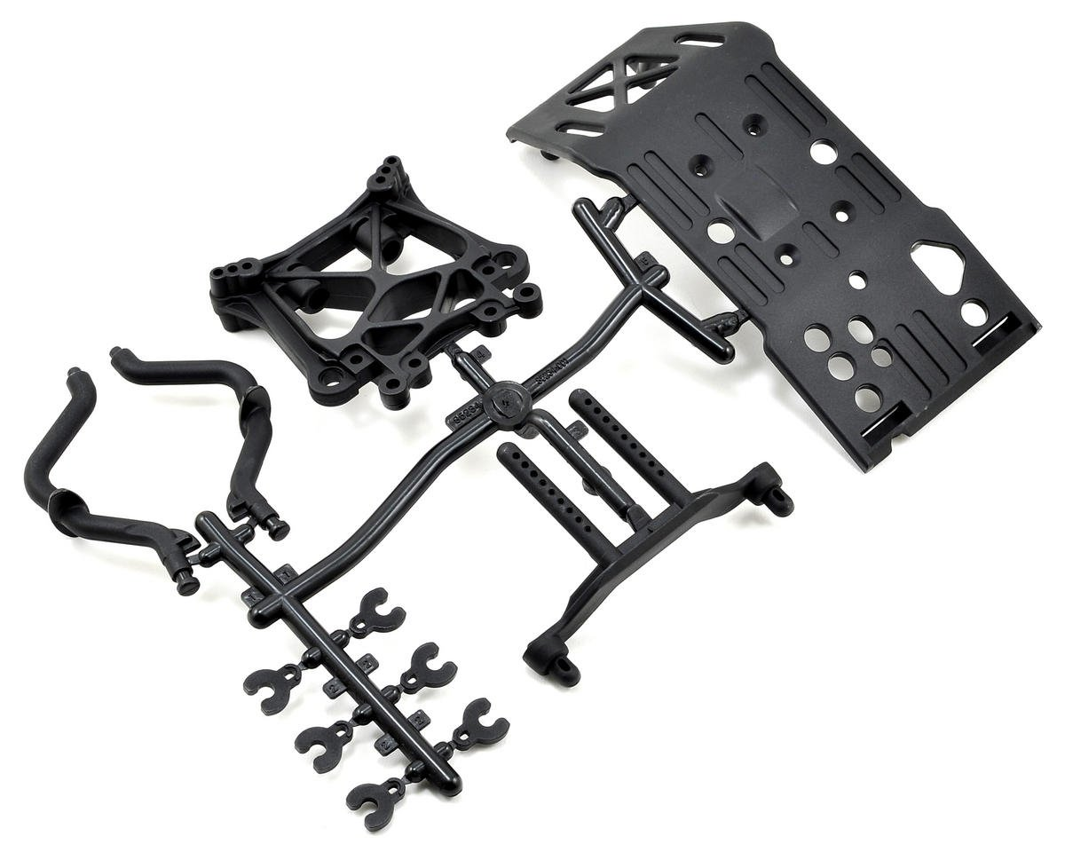 HPI Racing Skid Plate, Body Mount & Shock Tower Set