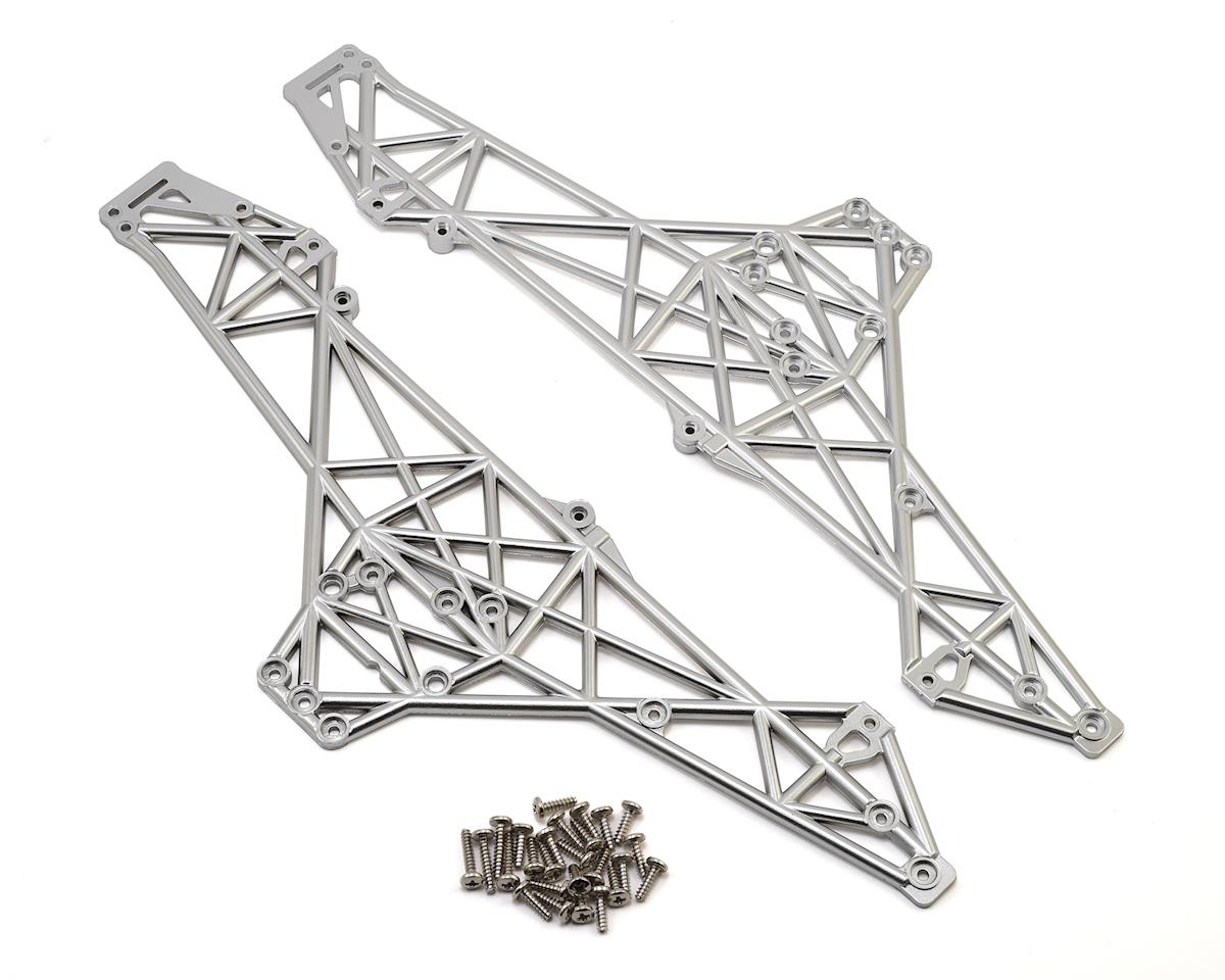 HPI Crawler King Main Chassis Set (Matte Chrome)