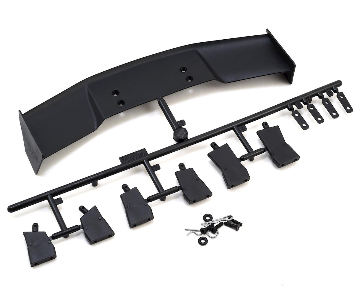 HPI Plastic 1/10 GT Wing Set (Black)