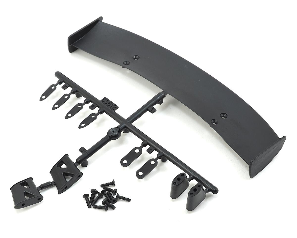 "HPI RS4 ""Type C"" 1/10 GT Wing Set (Black)"