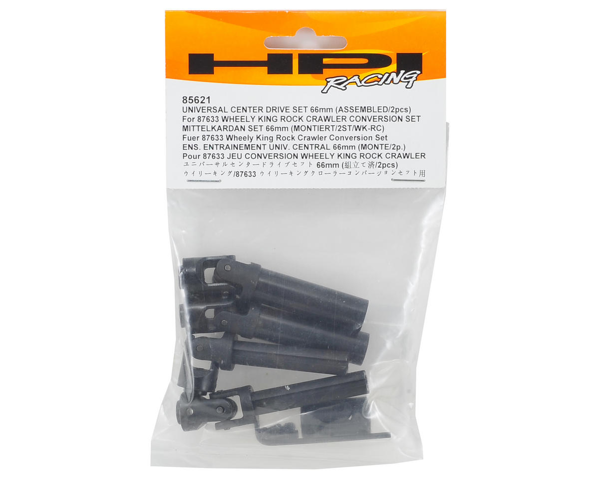 HPI Racing 66mm Universal Center Drive Set (2)