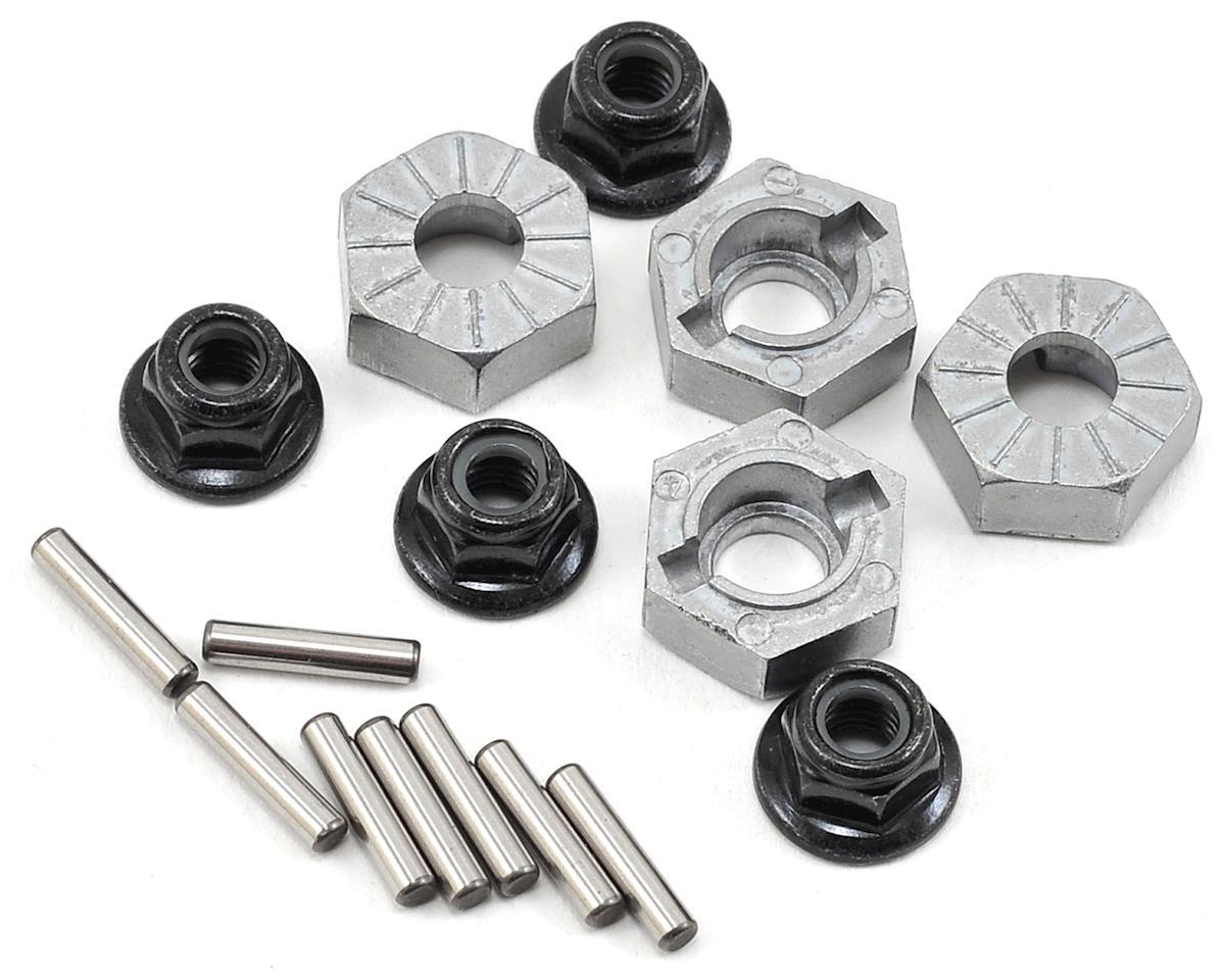 Hex Wheel Hub 14mm (Silver) (4) by HPI