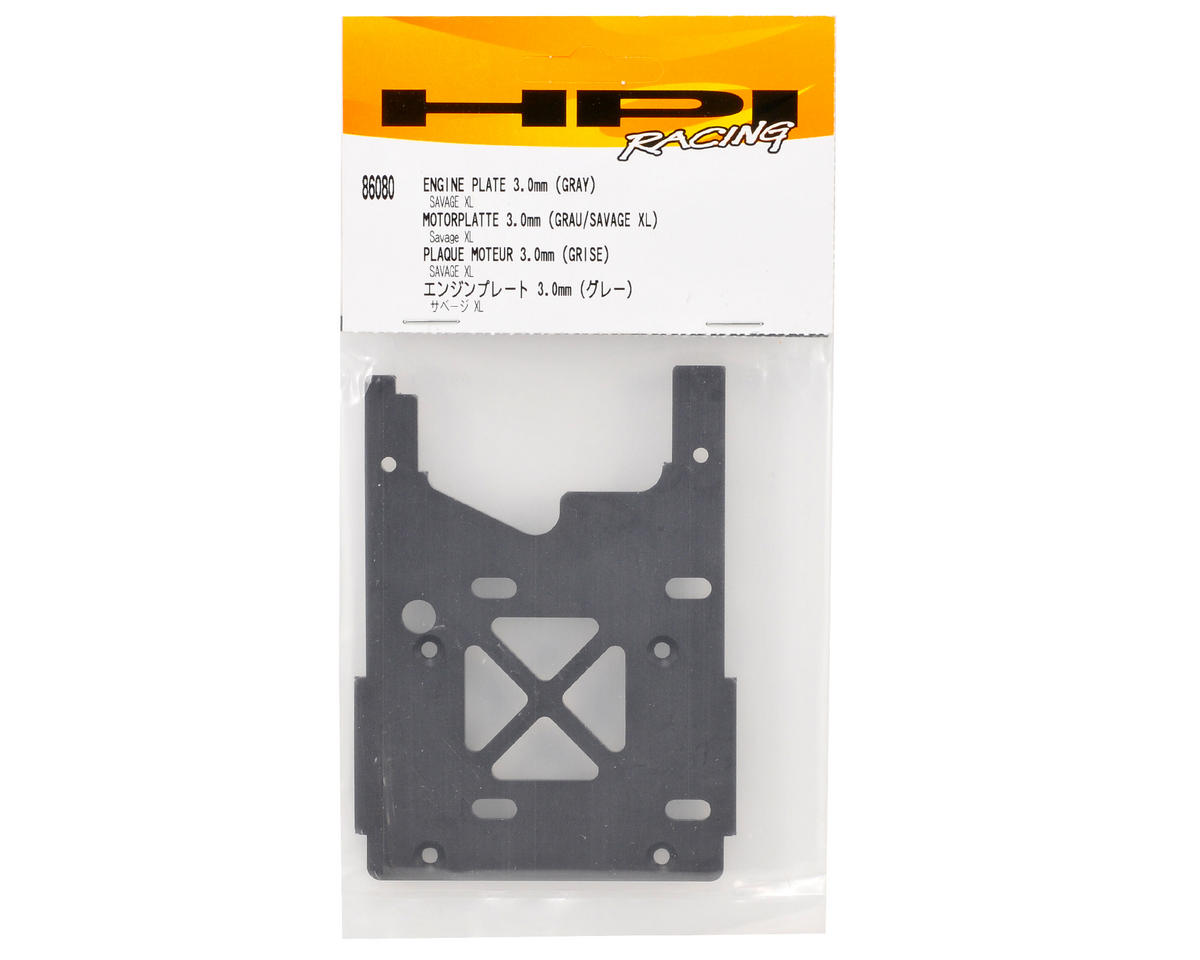 HPI 3mm Engine Plate (Grey)