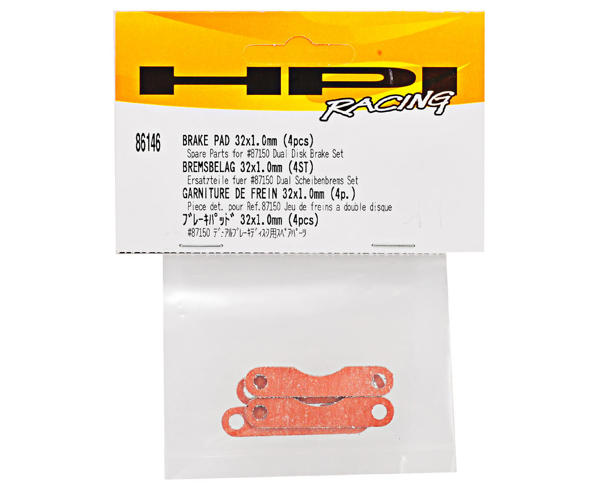 HPI Racing 32x1.0mm Brake Pad Set (4)