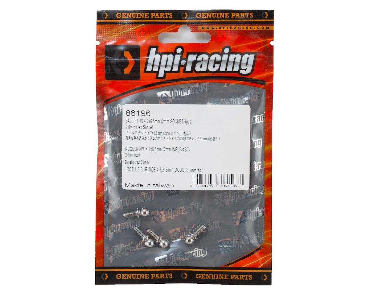 HPI Racing 4.7x6.5mm Ball Stud (4)