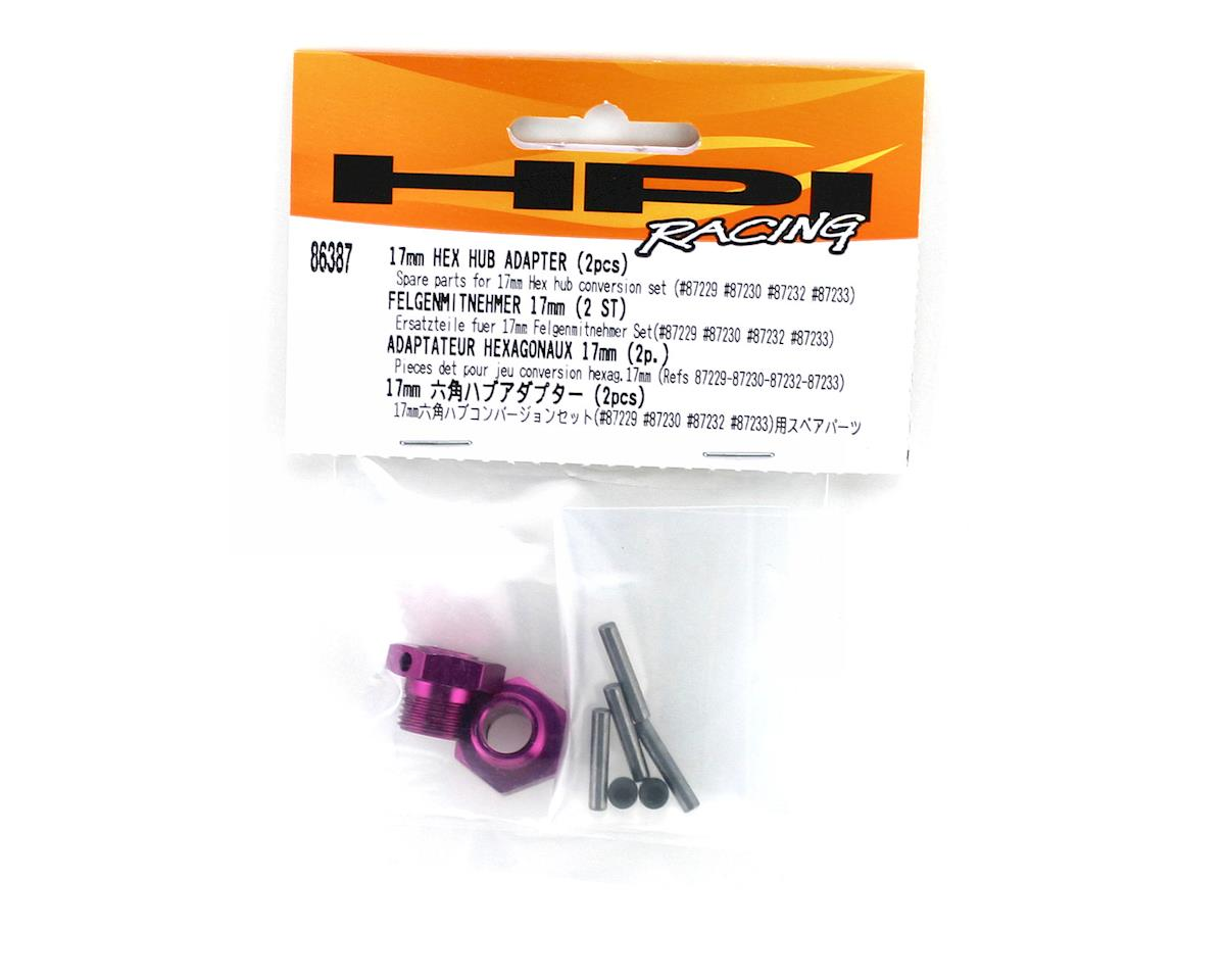 HPI Racing 17mm Hex Hub Adapter (2)