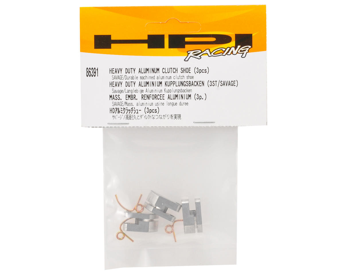 HPI Racing Heavy Duty Aluminum Clutch Shoe Set (3)