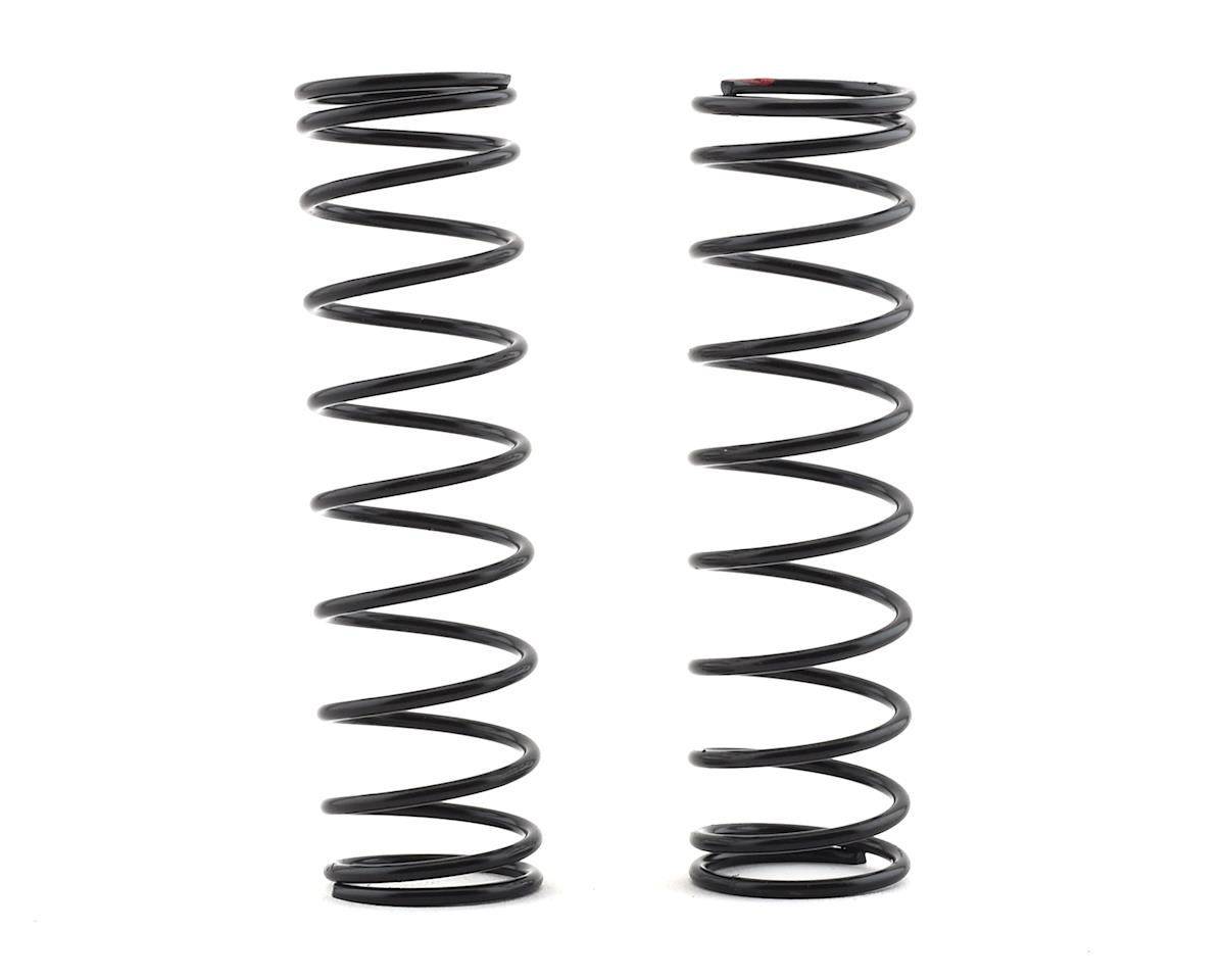 Shock Spring 18x80x1.8mm 10.5 Coil (Red 196gF/mm) (2) by HPI