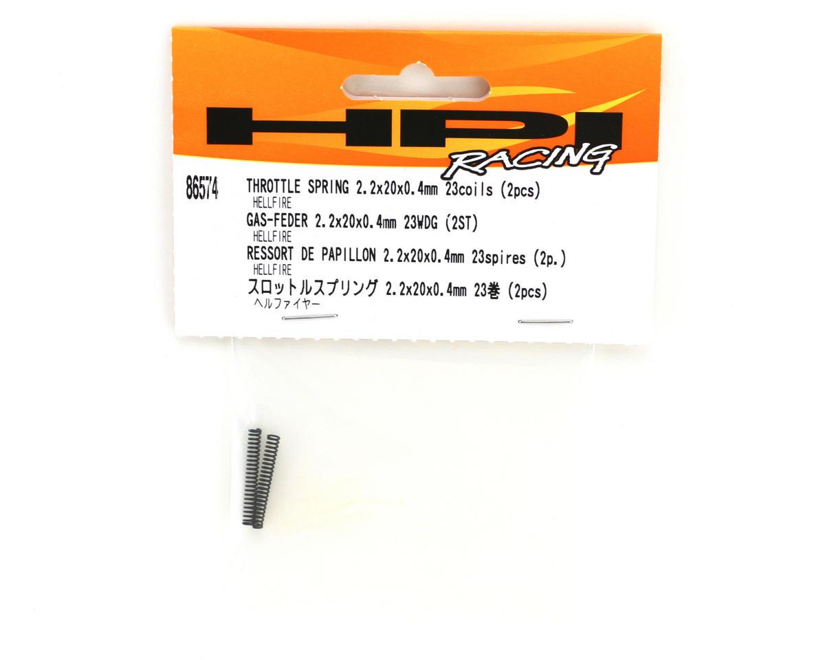 HPI Racing Brake Spring 2x9.5x0.5mm 9 Coil (2)