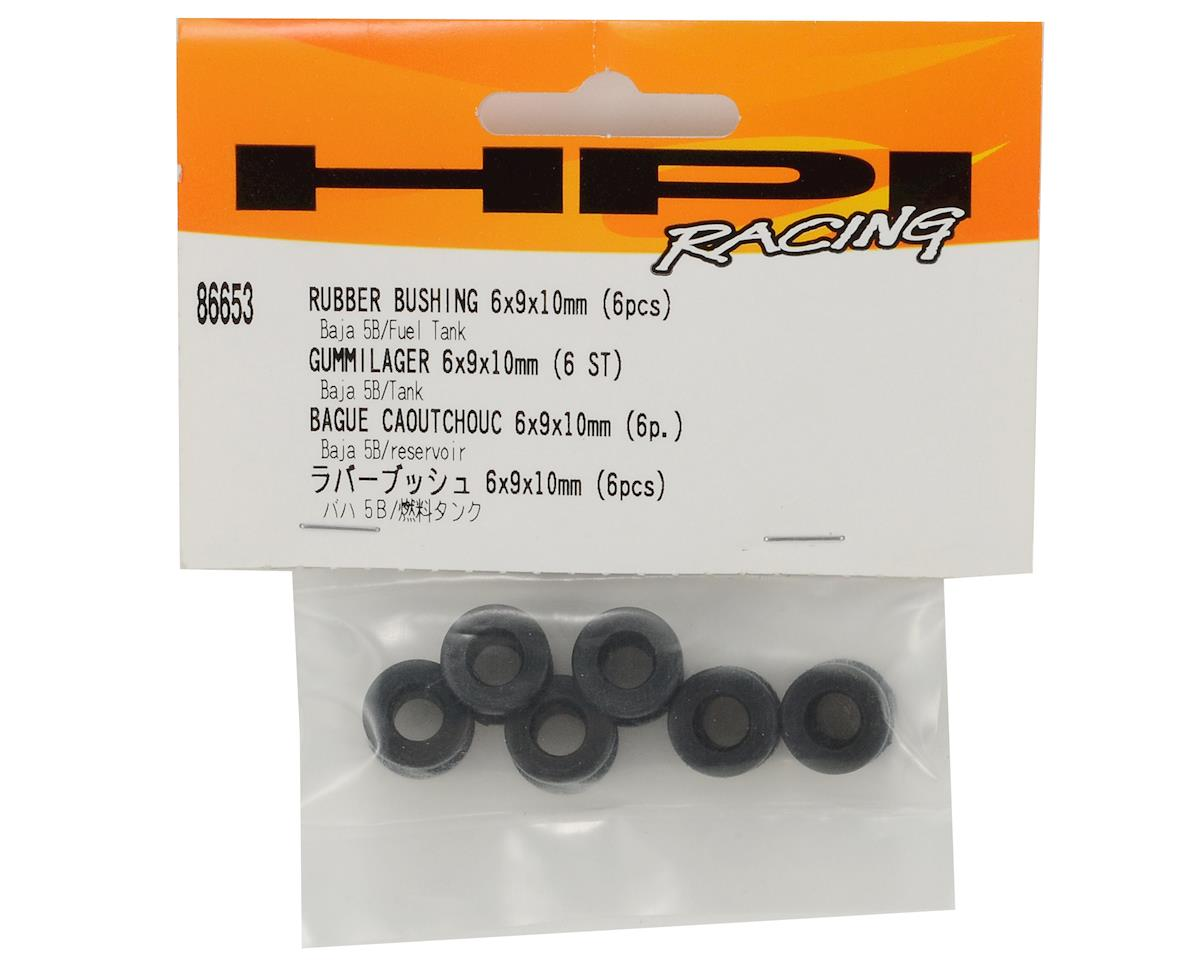 HPI 6x9x10mm Rubber Bushing Set (6)