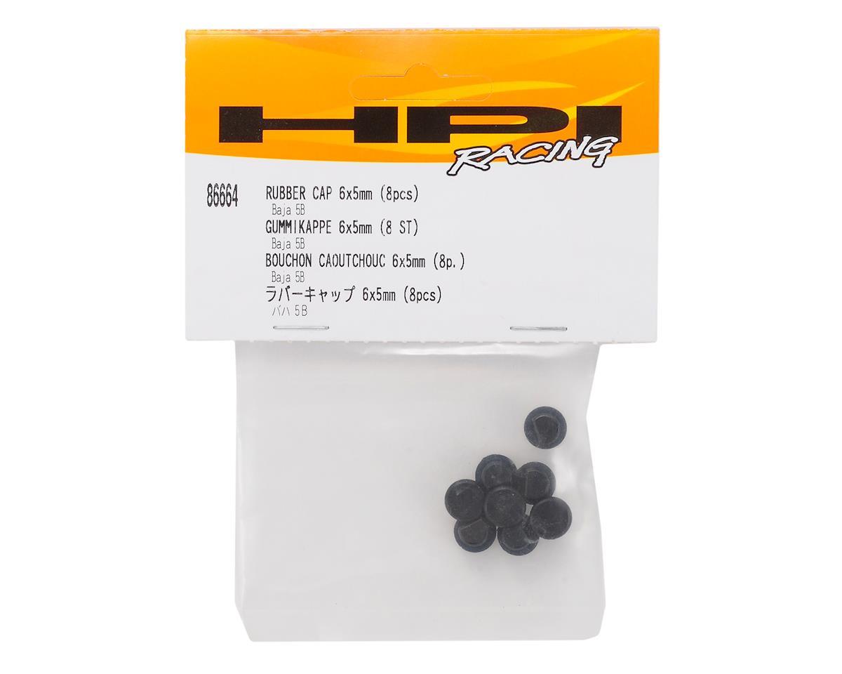 HPI 6x5mm Baja Rubber Cap (8)