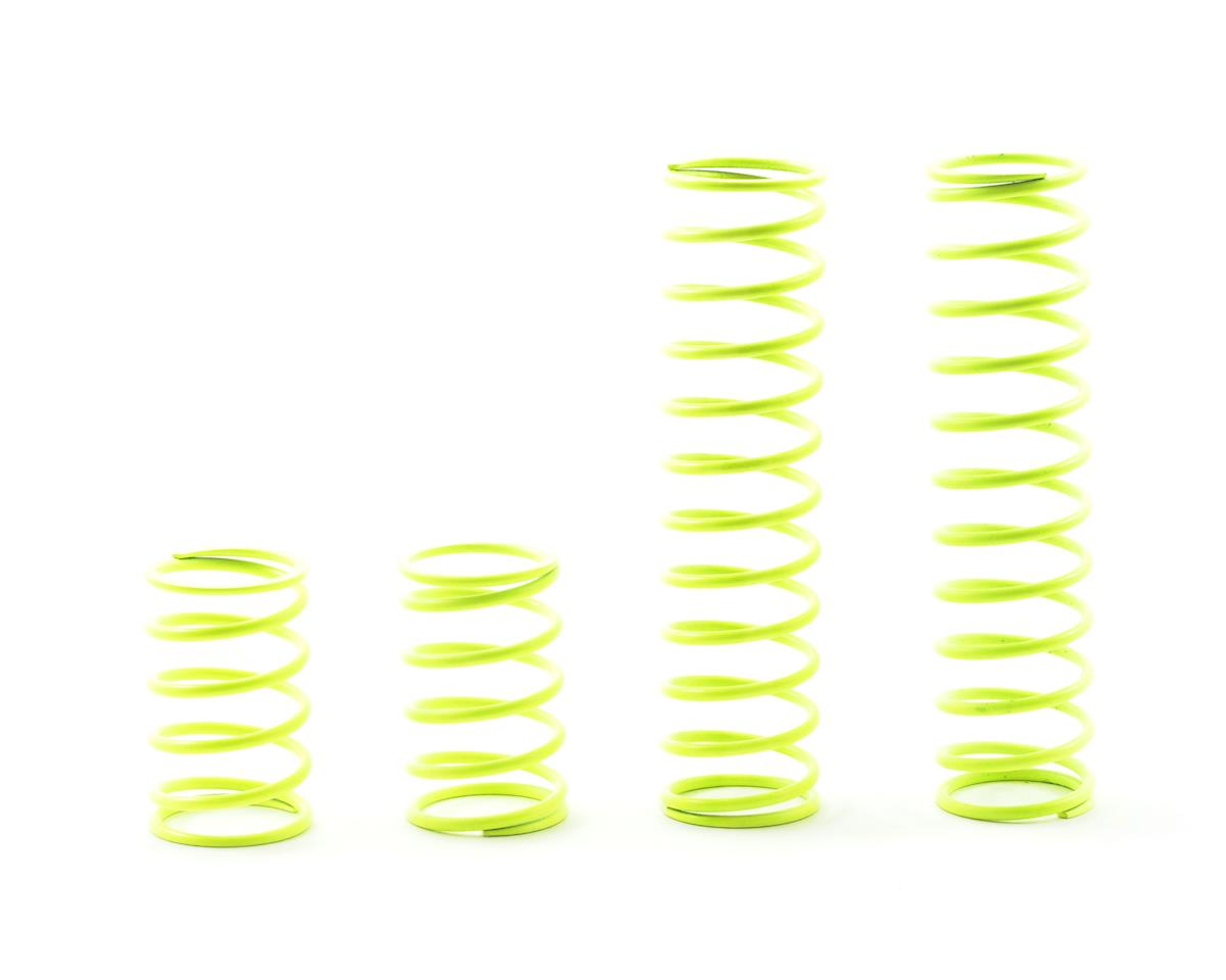 Shock Spring Set 17.5 coils, Yellow:Baja5B,5T by HPI