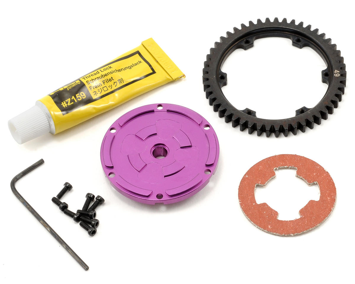 HPI Racing Steel Spur Gear Set (49T)