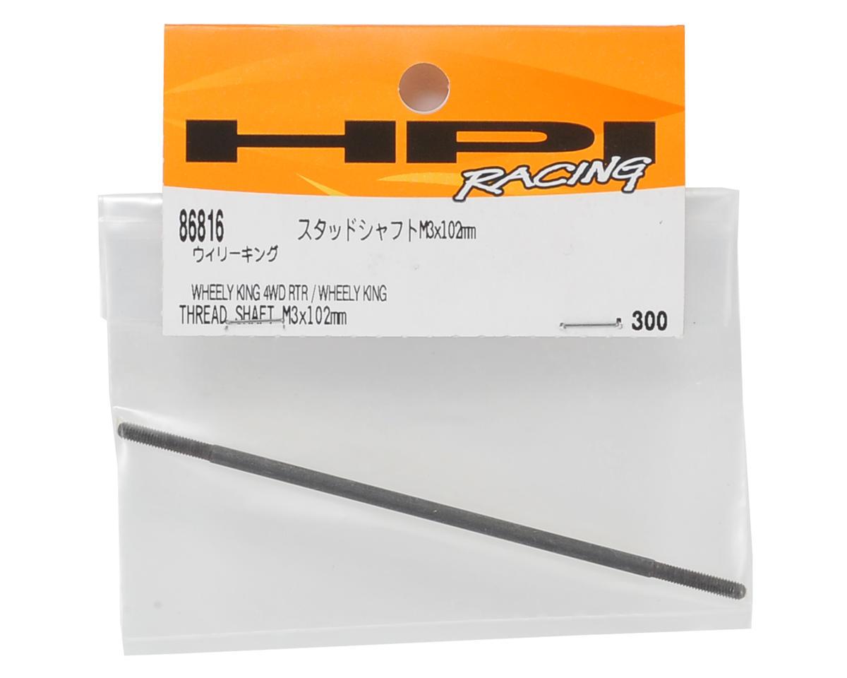 HPI 3x102mm Threaded Shaft