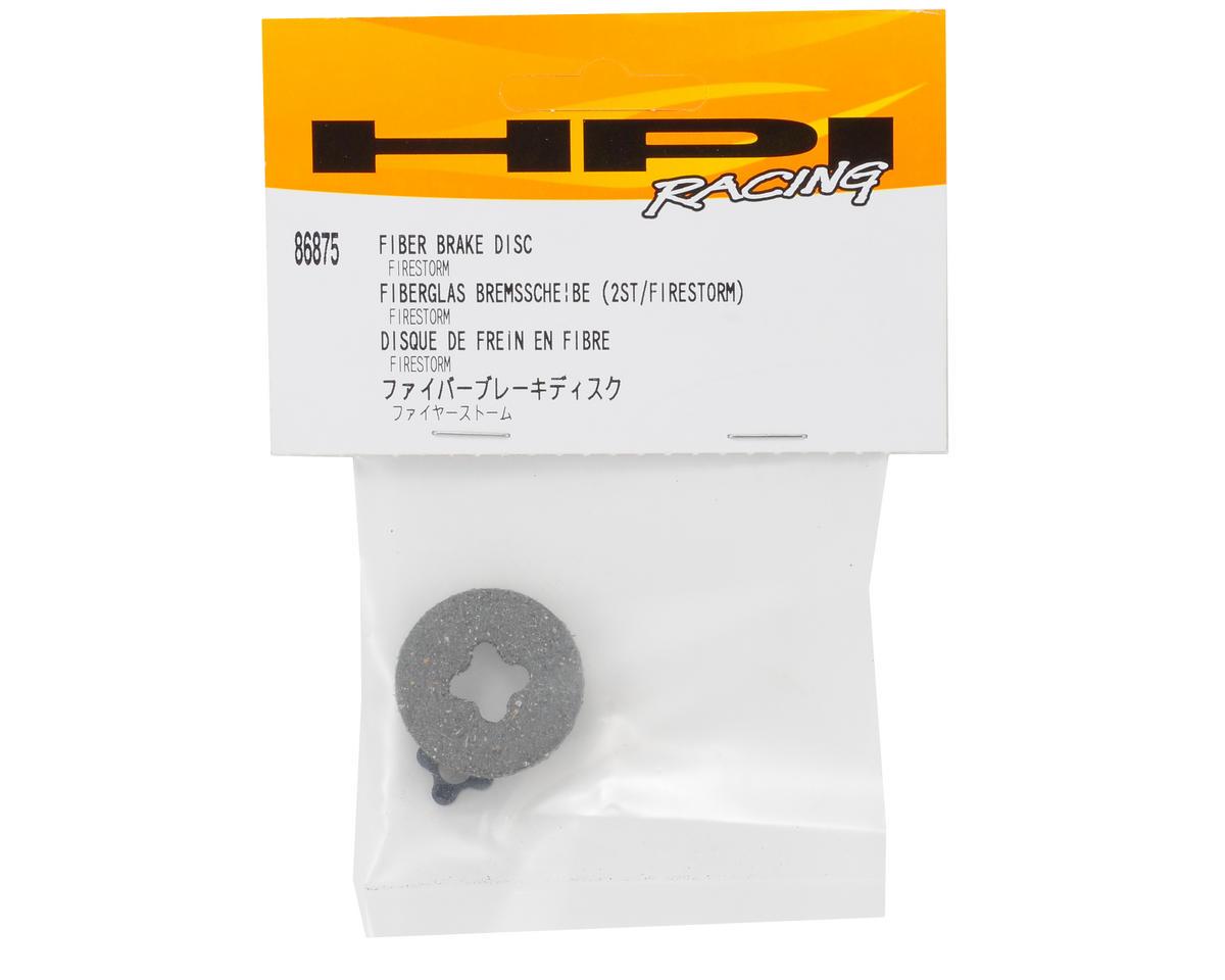 Racing Fiber Brake Disc by HPI