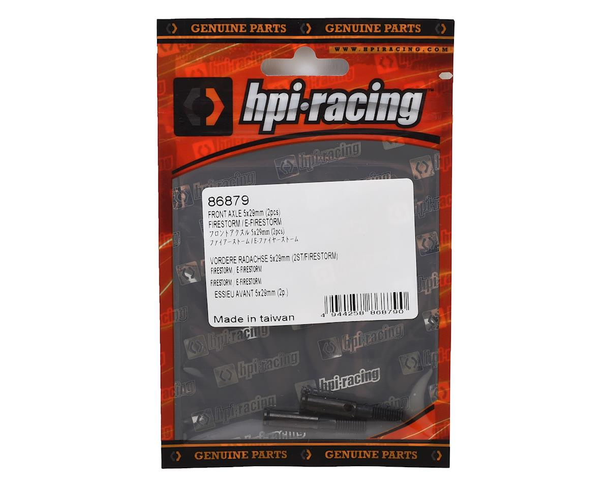 5x29mm Front Firestorm Axle (2) by HPI