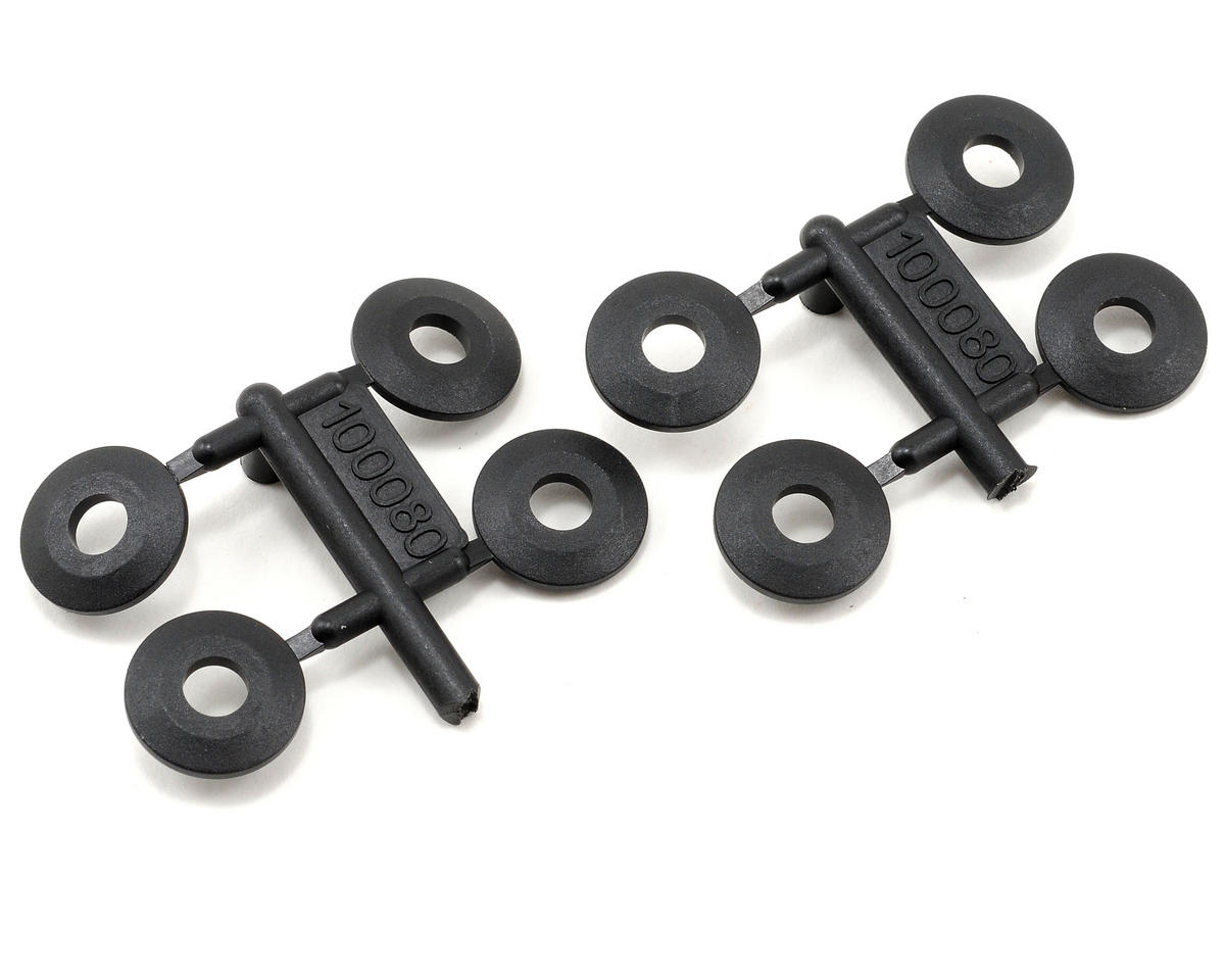 HPI 5x14x2mm Plastic Wheel Washer (8)