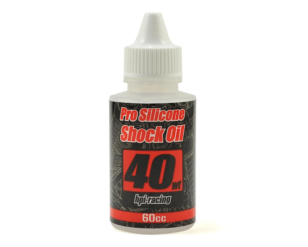 Pro Silicone Shock Oil (60cc) (40wt) by HPI