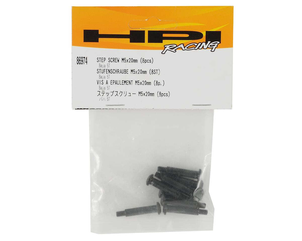 HPI 5x20mm Step Screw Set (8)