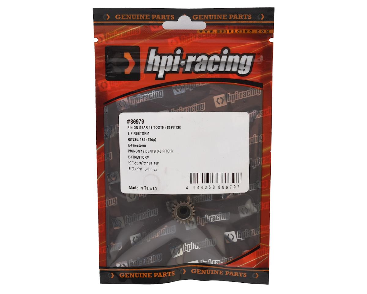 HPI 48P Firestorm Pinion Gear (19T)
