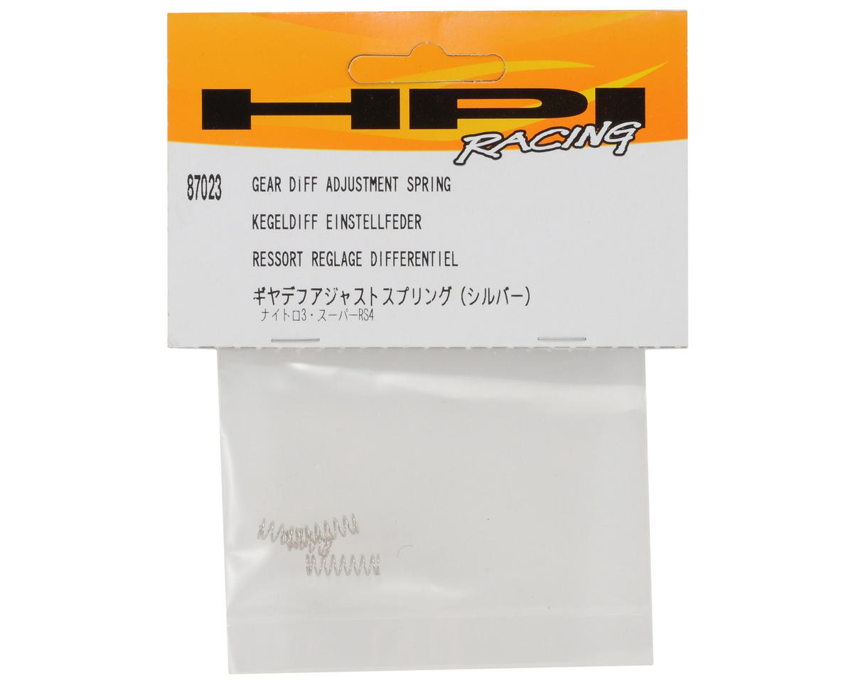 HPI Racing 3x14x0.5mm Differential Adjustment Spring Set (3)