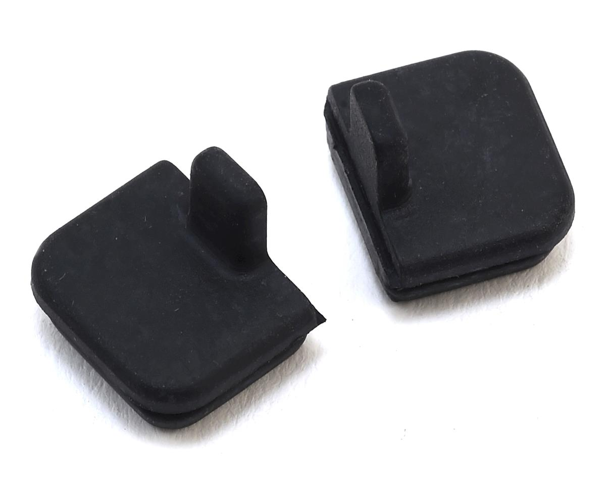 HPI 10x11mm Rubber Cap Set (Black) (2)