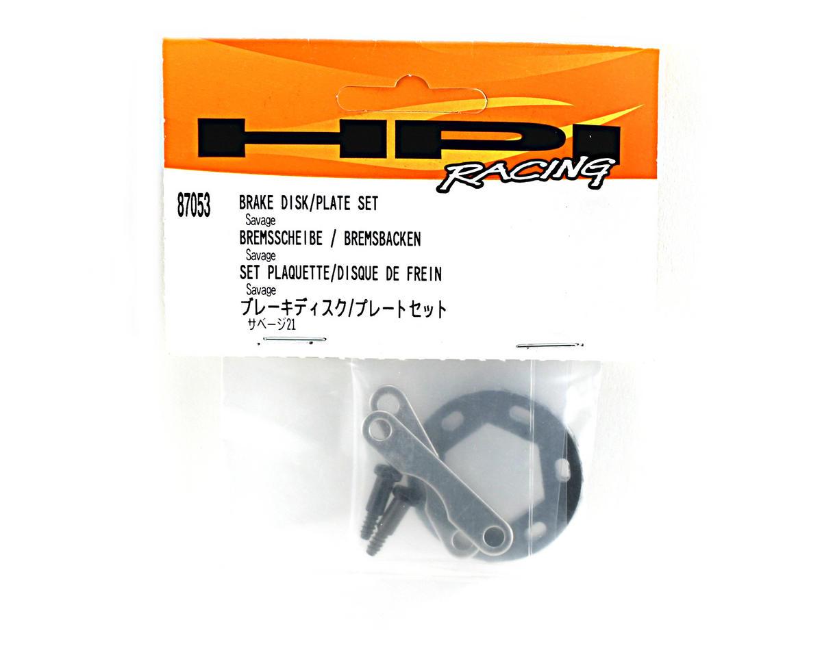 HPI Brake Disk/Plate Set