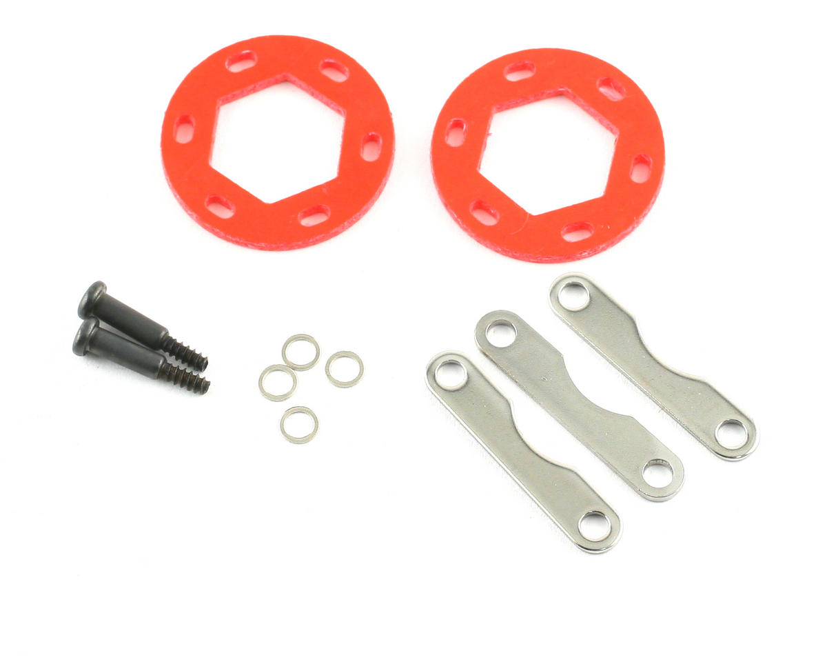 Dual Fiberglass Brake Disc Plate Set by HPI