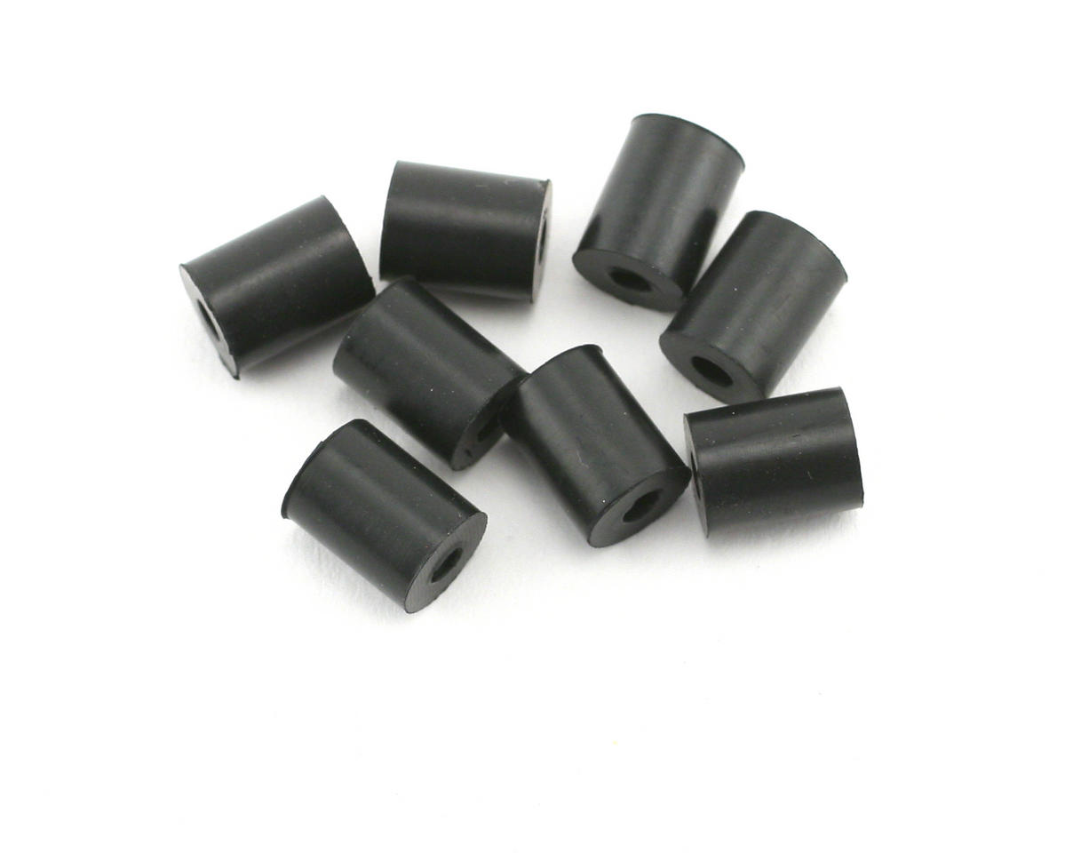 HPI 3x8x10mm Rubber Tube (Black) (8)