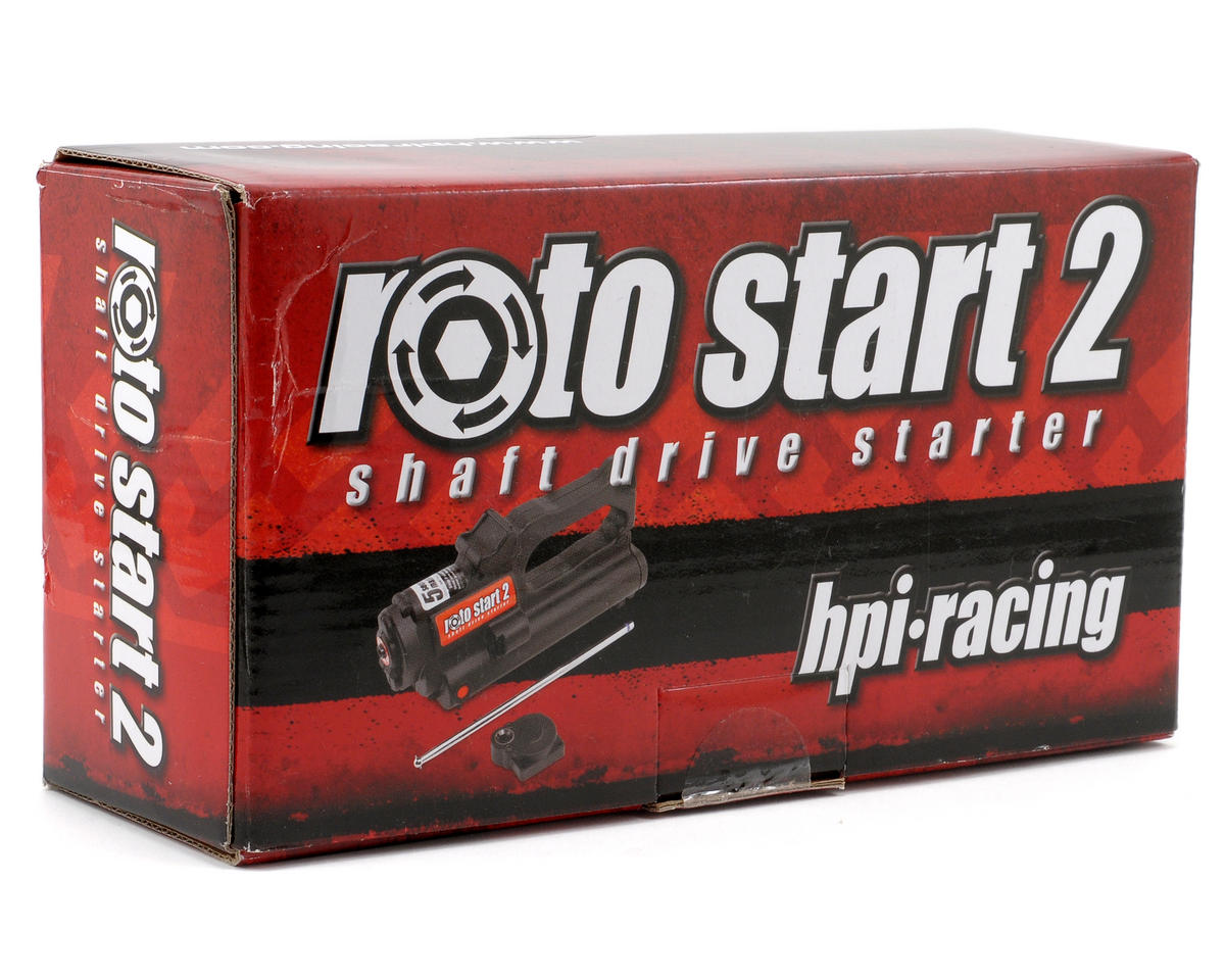 HPI Racing Roto Start 2 System w/Backplate