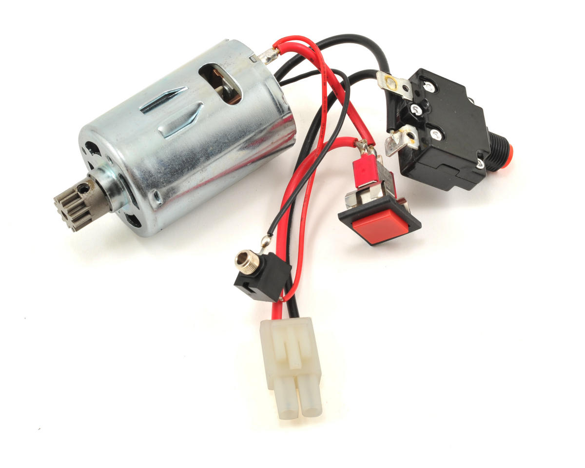 HPI Racing Motor & Switch Set w/Motor Unit Pinion