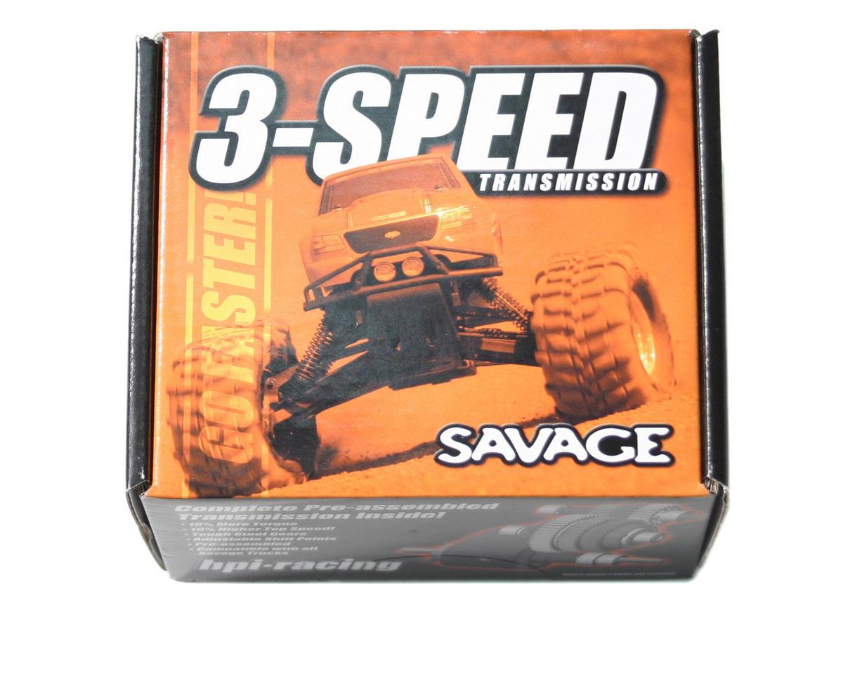 HPI Racing Savage 3 Speed Transmission