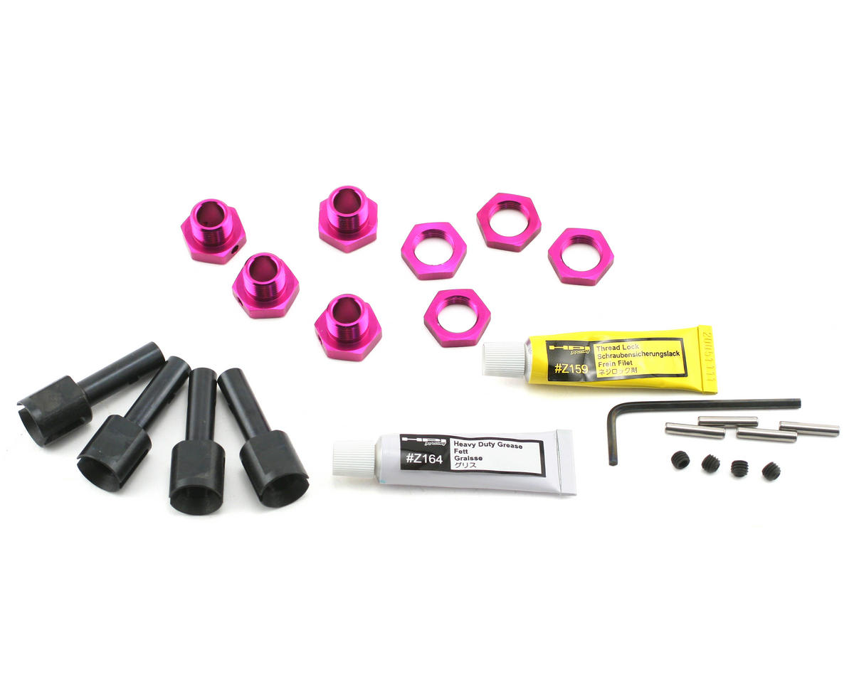 17mm Hex Hub Conversion Set by HPI