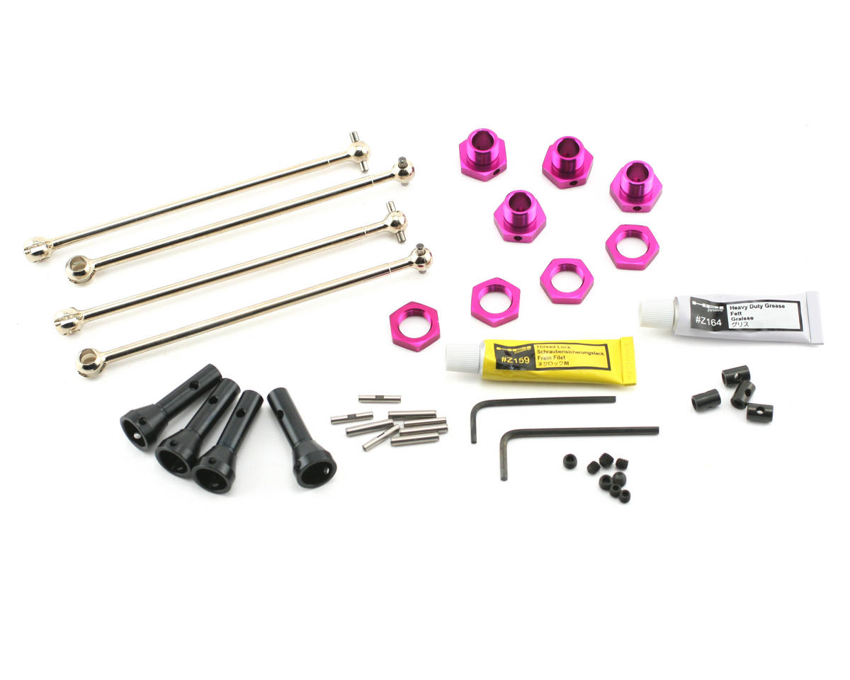 HPI Racing 17mm Hex Hub Coversion Set w/UV Joint (Savage X)