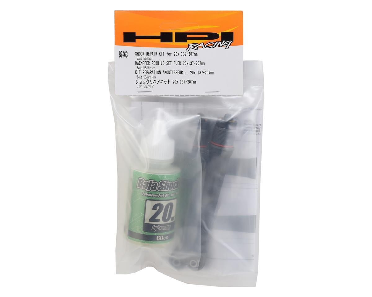HPI Baja Shock Repair Kit w/20wt Shock Fluid (137-207mm)