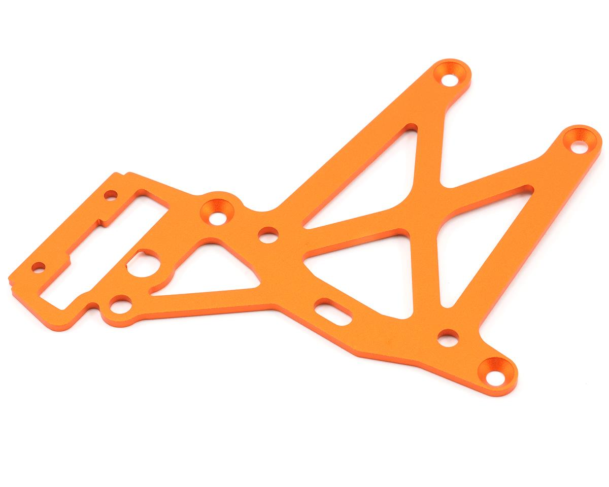 Rear Upper Plate (Orange) by HPI