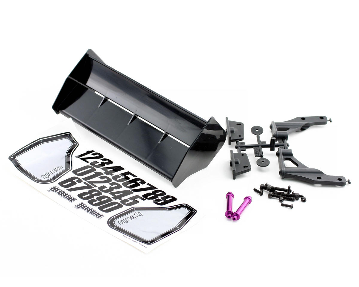 HPI Racing Hellfire Wing Mount Set w/Black Wing