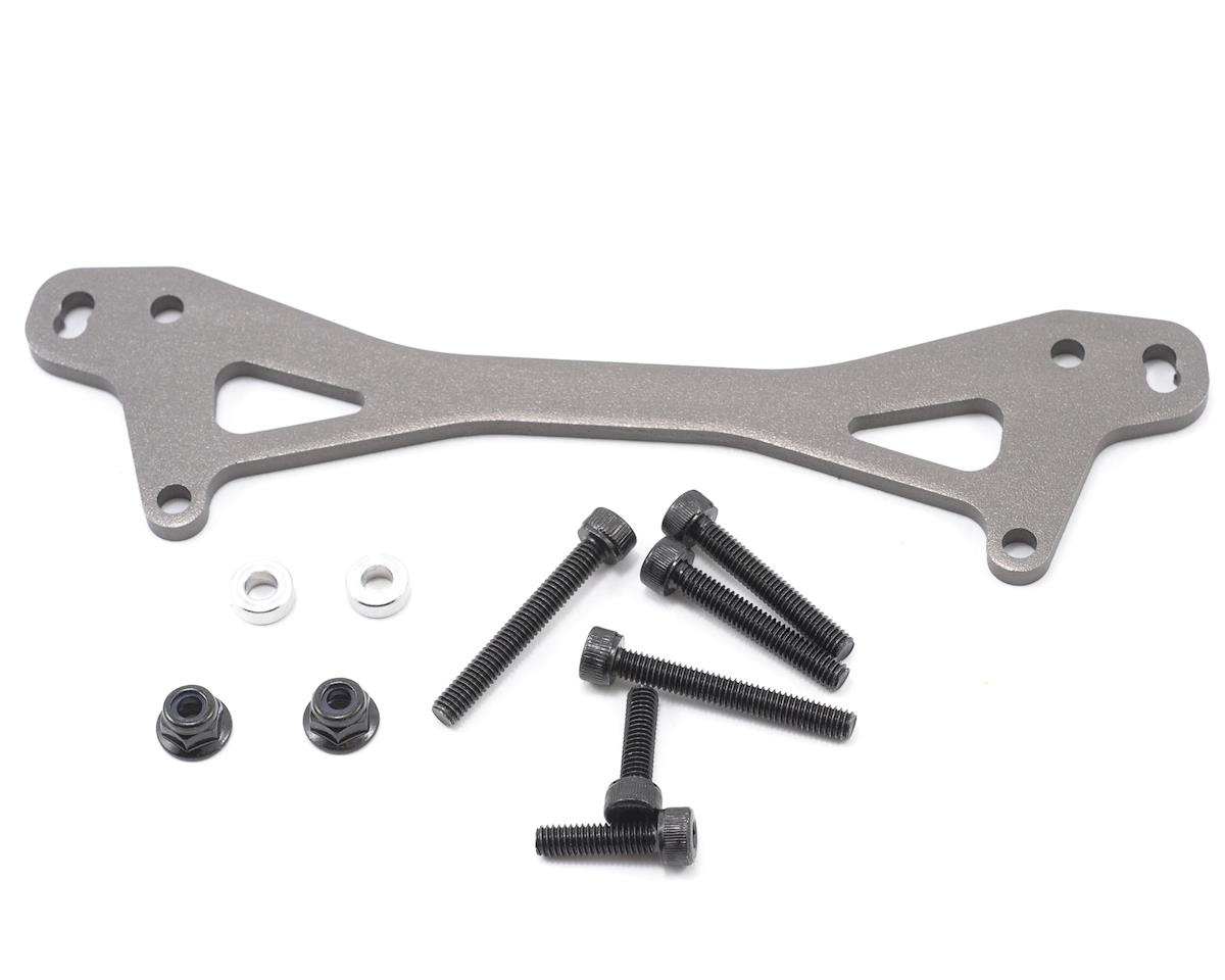 HPI Racing Rear Shock Mount Plate, Gunmetal (Baja 5B)