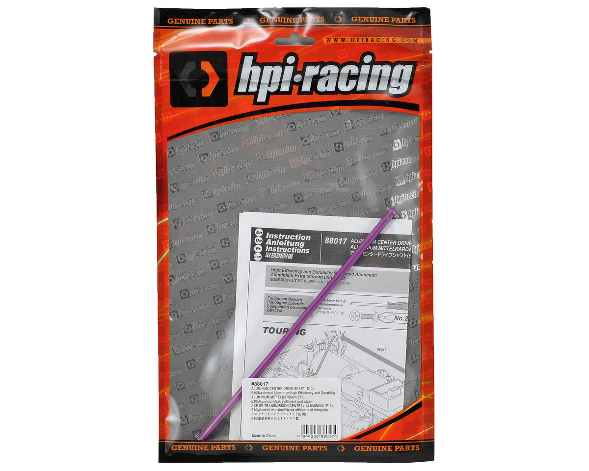 Aluminum Center Driveshaft by HPI