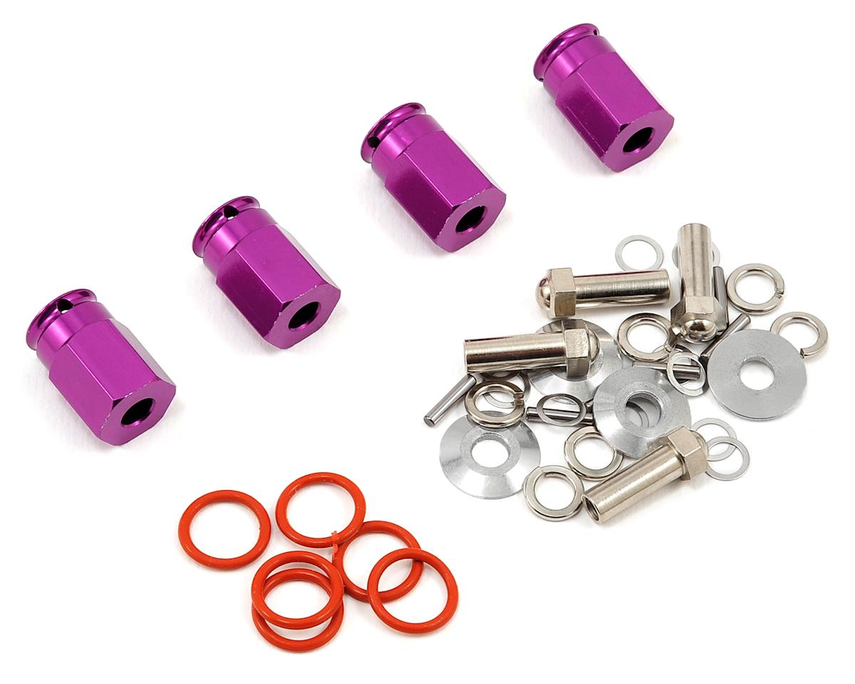 HPI 12mm Aluminum Wide Hex Hub Kit (Purple)