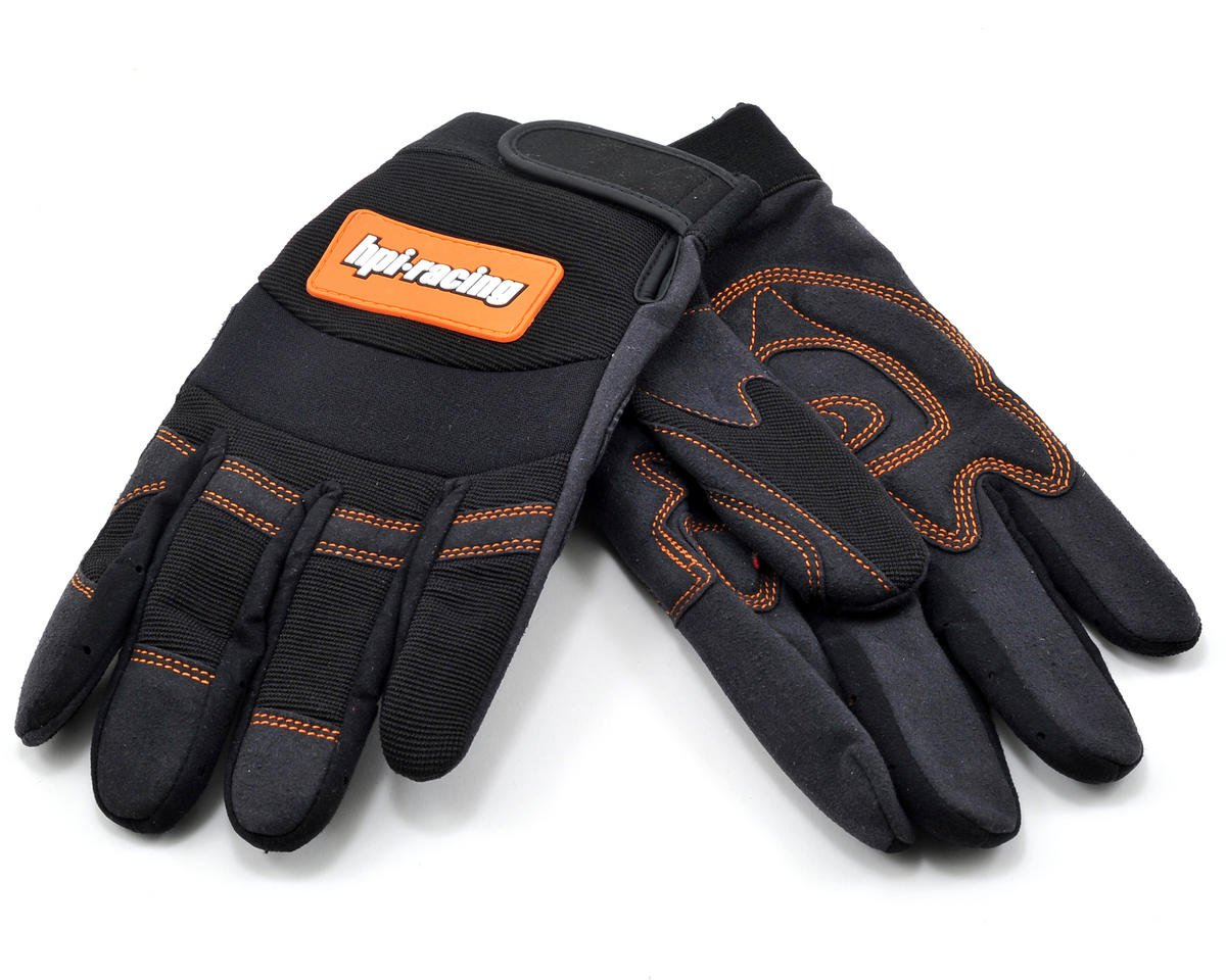 HPI Racing Pit Gloves (Black) (X-Large)