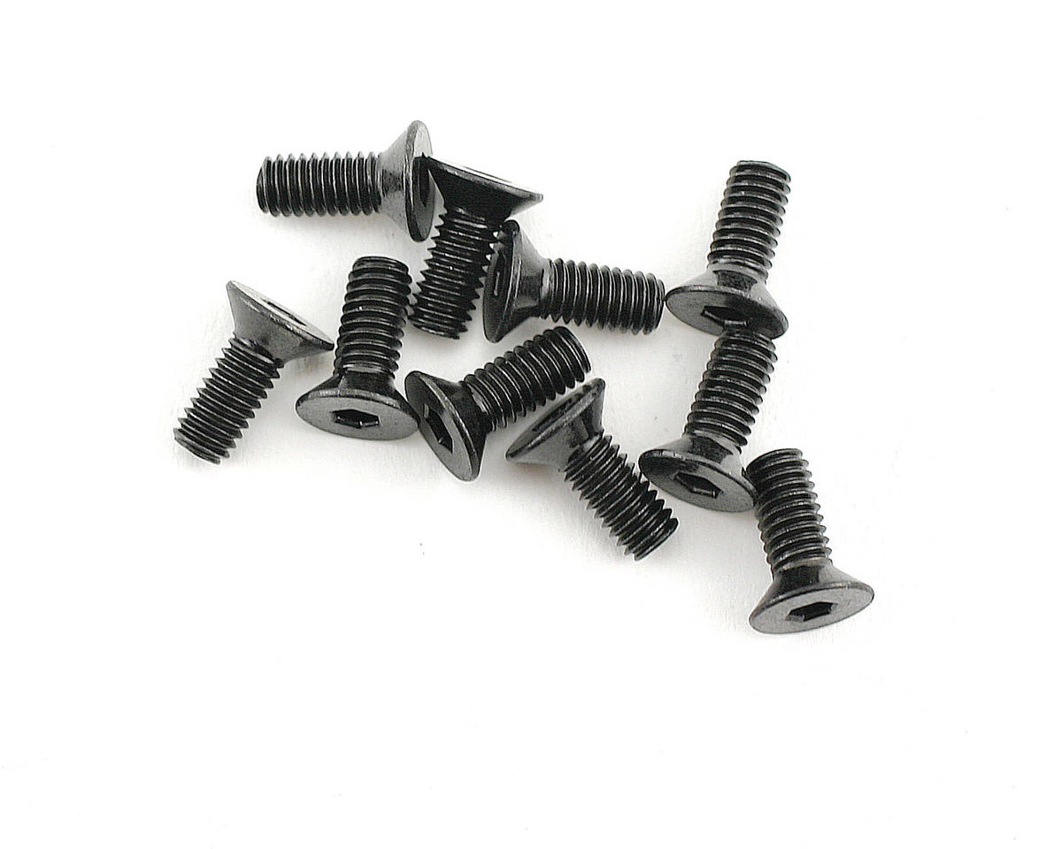 Flat Head Screw M4x10mm (10) by HPI