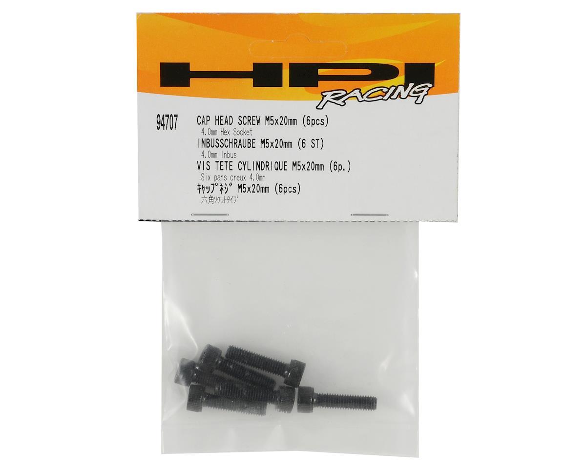 HPI 5x20mm Cap Head Screw Set (6)