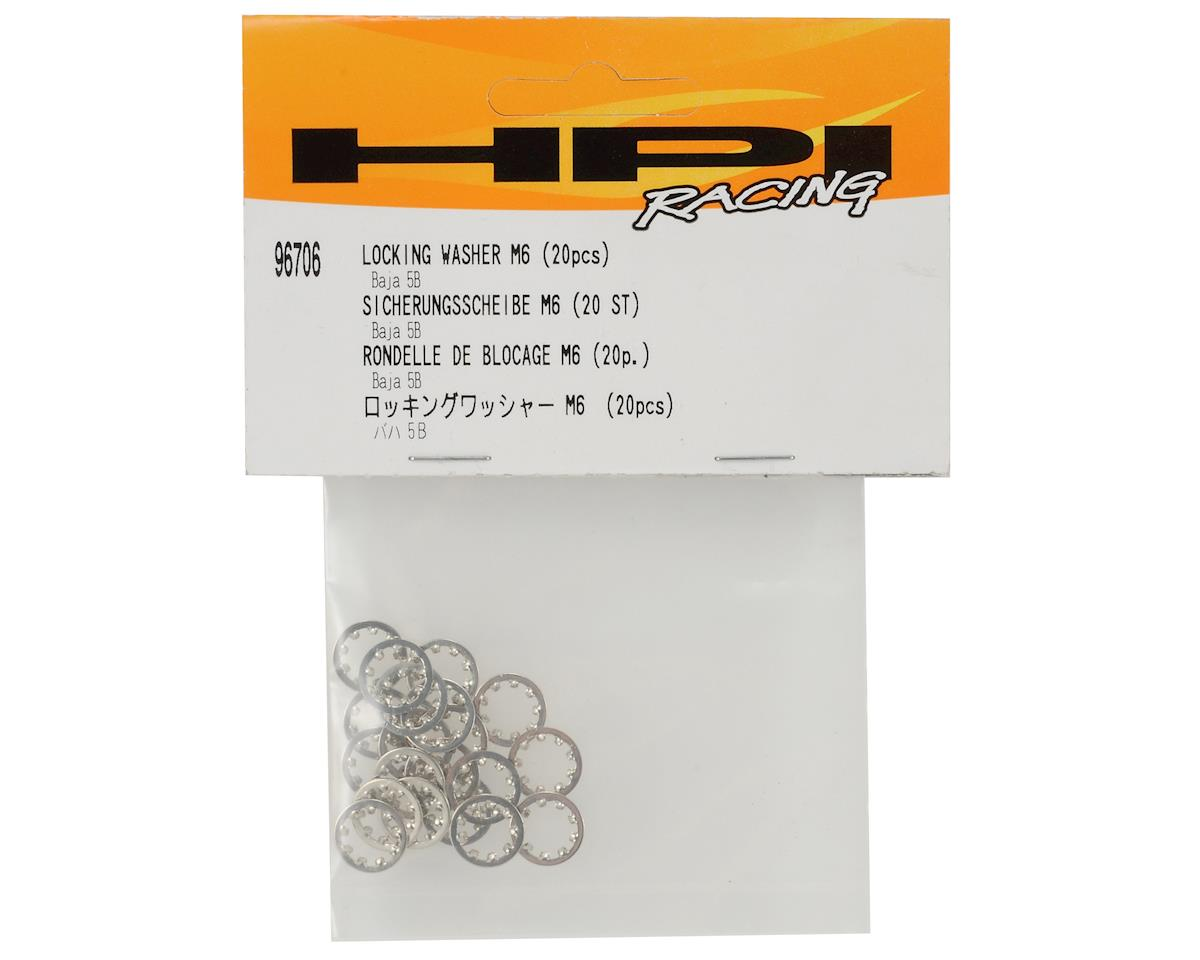 HPI M6 Lock Washer Set (20)