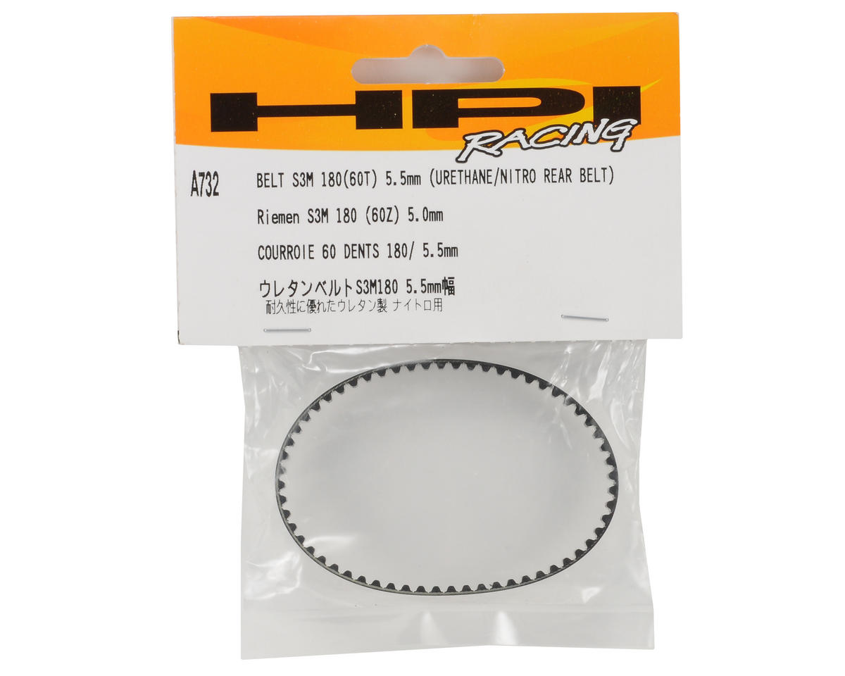 HPI Racing 60T Urethane Rear Belt