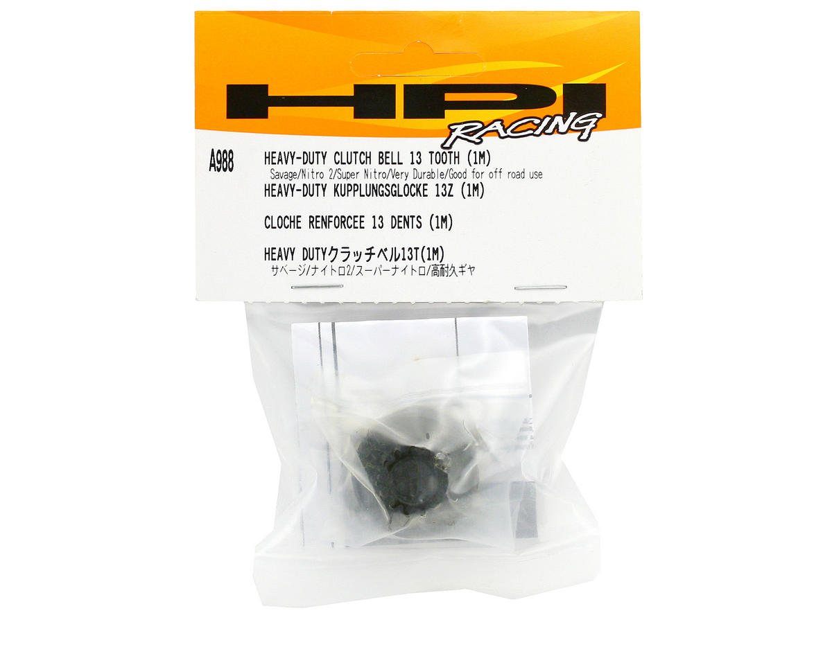 Heavy Duty Clutch Bell (13T) by HPI