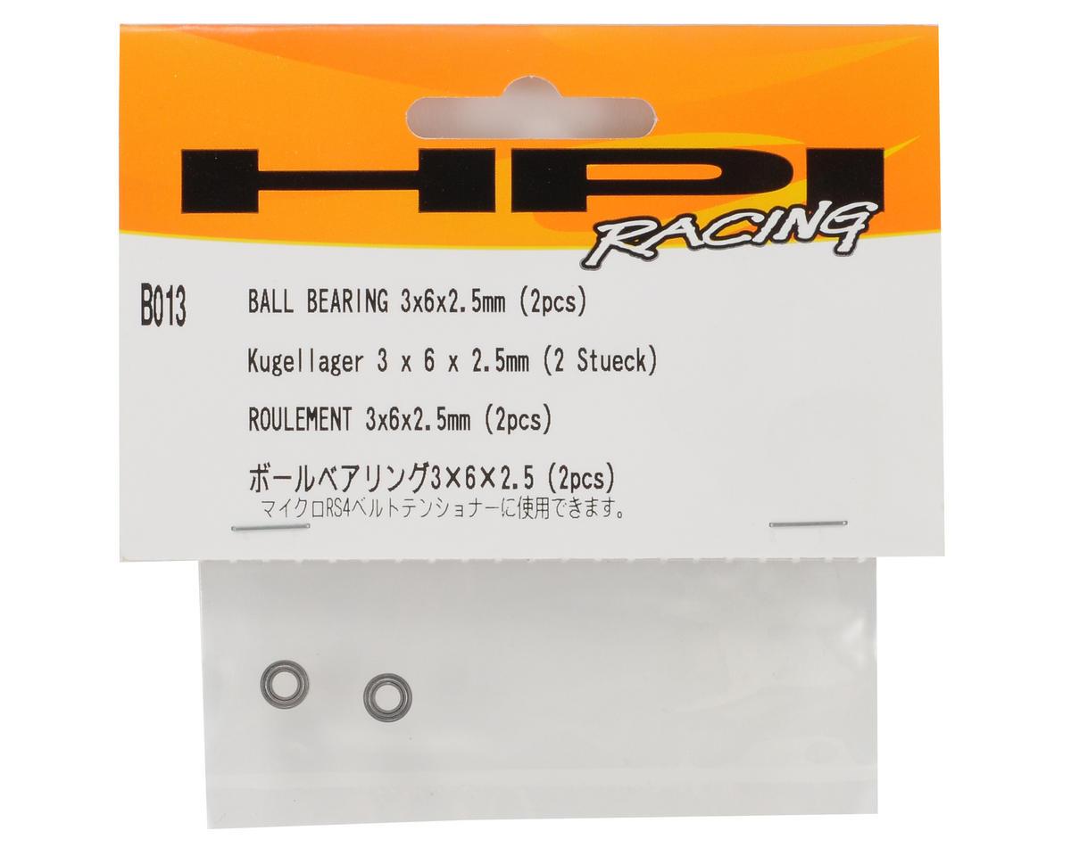HPI Racing 3x6x2.5mm Ball Bearing Set (2)