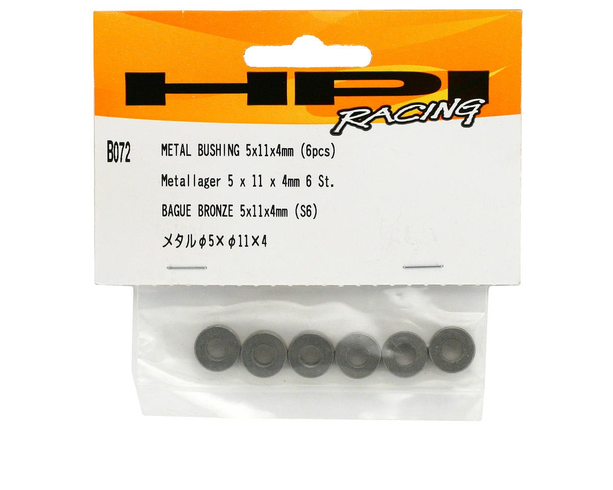 HPI Racing 5x11x4mm Metal Bushing (6)